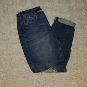 NEW 💫 Just Fab BOYFRIEND Distressed Jean's